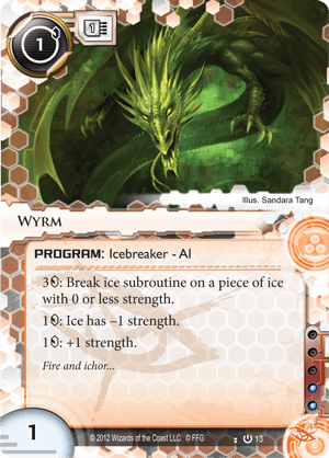 Android Netrunner Wyrm Image