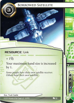 Android Netrunner Borrowed Satellite Image