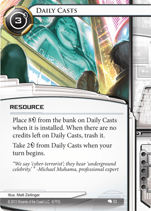 Android Netrunner Daily Casts Image