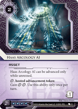 Android Netrunner Haas Arcology AI Image