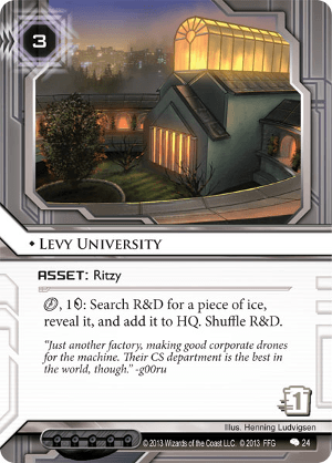 Android Netrunner Levy University Image