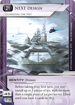 Android Netrunner Next Design: Guarding the Net Image