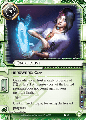 Android Netrunner Omni-Drive Image