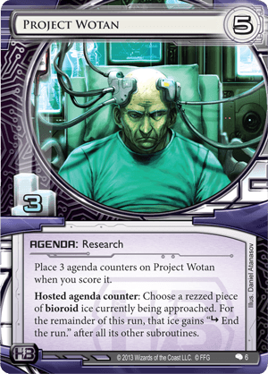 Android Netrunner Project Wotan Image