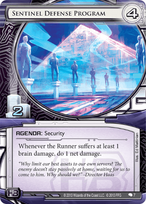 Android Netrunner Sentinel Defense Program Image