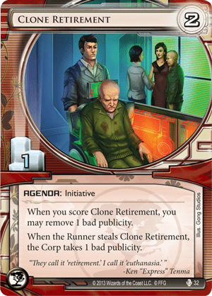 Android Netrunner Clone Retirement Image