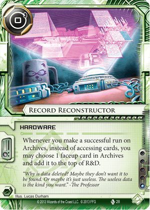 Android Netrunner Record Reconstructor Image