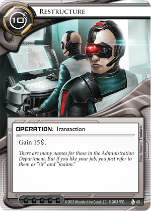 Android Netrunner Restructure Image