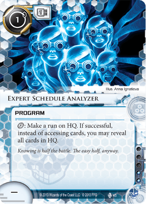 Android Netrunner Expert Schedule Analyzer Image