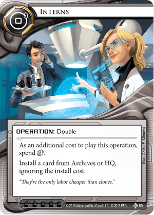 Android Netrunner Interns Image