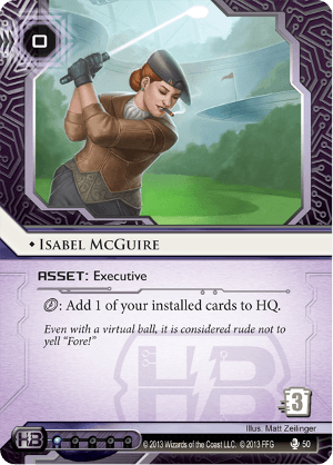 Android Netrunner Isabel McGuire Image