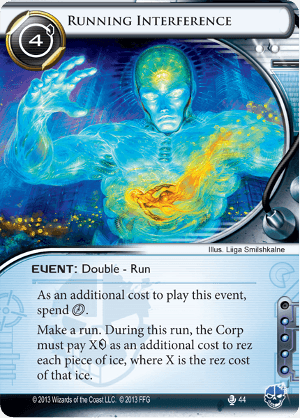 Android Netrunner Running Interference Image