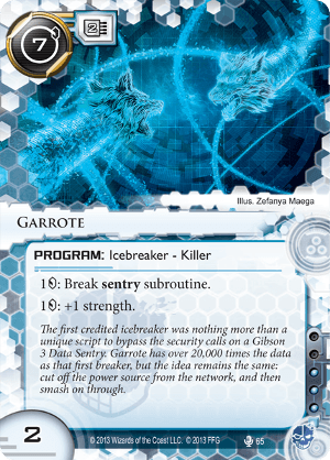 Android Netrunner Garrote Image