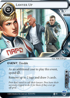 Android Netrunner Lawyer Up Image