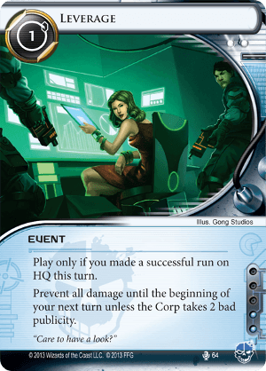 Android Netrunner Leverage Image