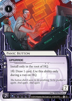 Android Netrunner Panic Button Image