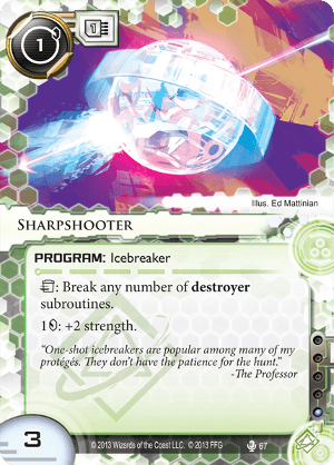 Android Netrunner Sharpshooter Image