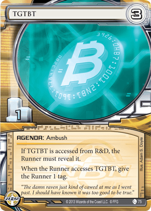 Android Netrunner TGTBT Image