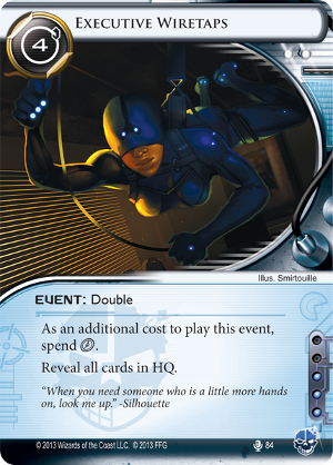 Android Netrunner Executive Wiretaps Image
