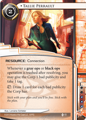 Android Netrunner Tallie Perrault Image