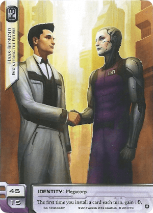 Android Netrunner Haas-Bioroid: Engineering the Future Image