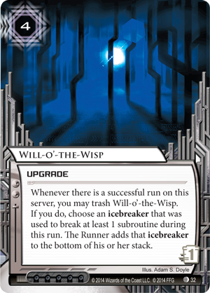 Android Netrunner Will-o'-the-Wisp Image