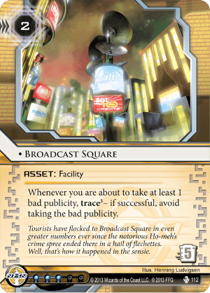 Android Netrunner Broadcast Square Image