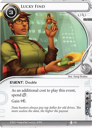 Android Netrunner Lucky Find Image