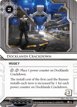 Android Netrunner Docklands Crackdown Image