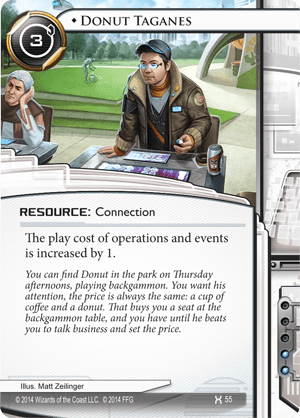 Android Netrunner Donut Taganes Image