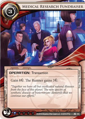 Android Netrunner Medical Research Fundraiser Image