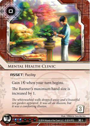 Android Netrunner Mental Health Clinic Image
