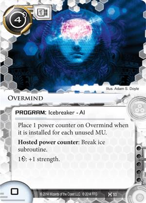 Android Netrunner Overmind Image