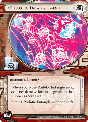 Android Netrunner Philotic Entanglement Image