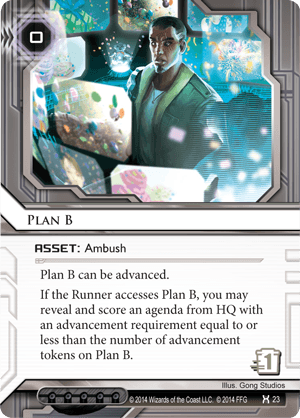 Android Netrunner Plan B Image