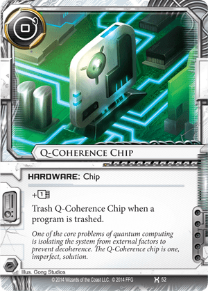 Android Netrunner Q-Coherence Chip Image