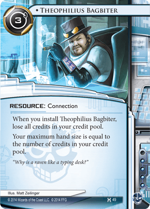 Android Netrunner Theophilius Bagbiter Image