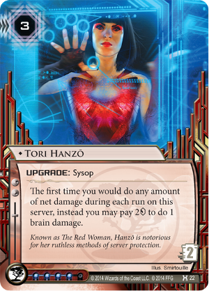 Android Netrunner Tori Hanzō Image