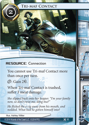 Android Netrunner Tri-maf Contact Image