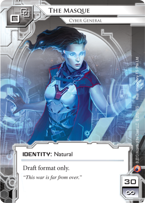 Android Netrunner The Masque: Cyber General Image
