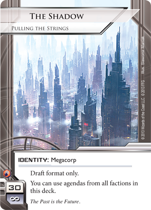 Android Netrunner The Shadow: Pulling the Strings Image