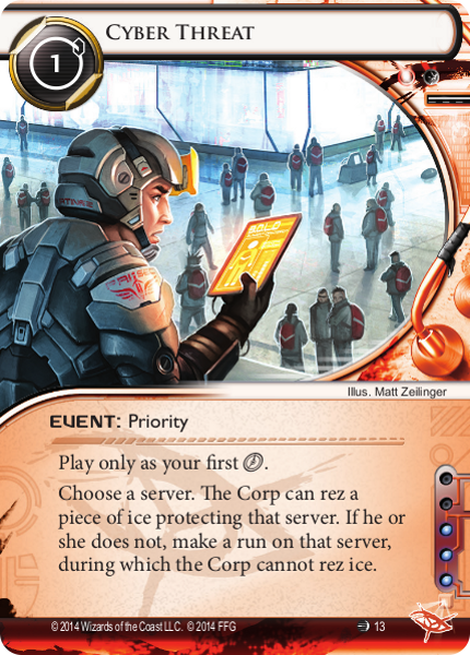 Android Netrunner Cyber Threat Image