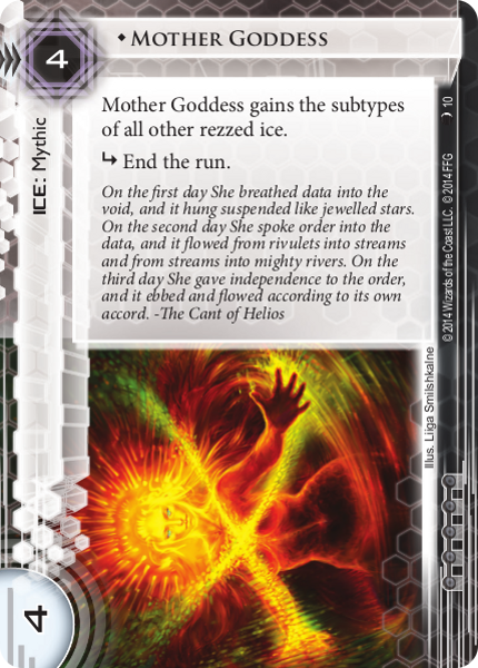 Android Netrunner Mother Goddess Image