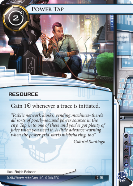 Android Netrunner Power Tap Image