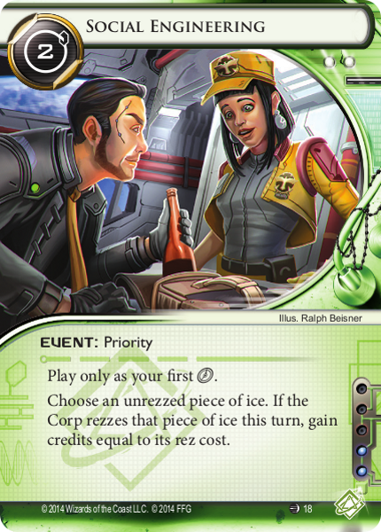 Android Netrunner Social Engineering Image