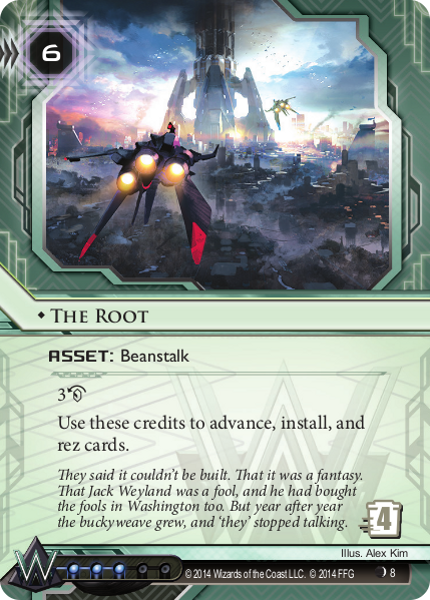 Android Netrunner The Root Image