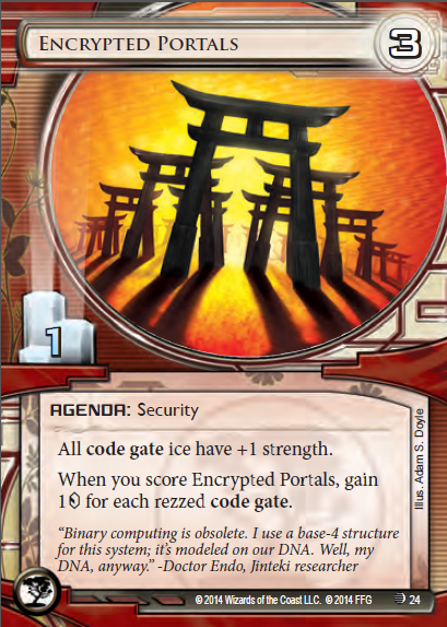 Android Netrunner Encrypted Portals Image