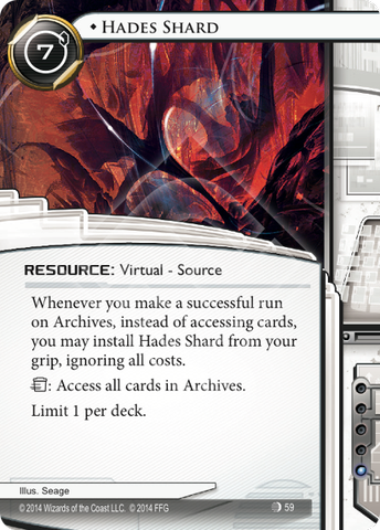 Android Netrunner Hades Shard Image