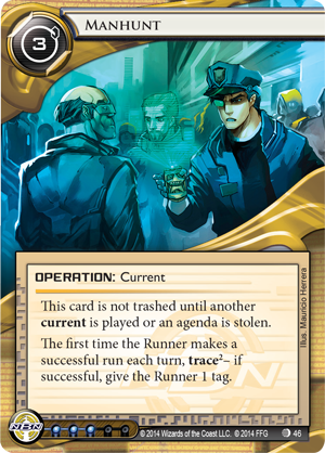 Android Netrunner Manhunt Image