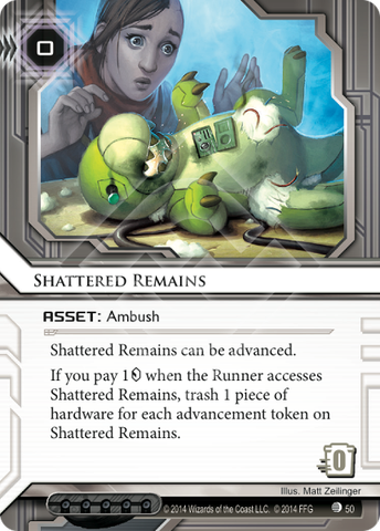 Android Netrunner Shattered Remains Image